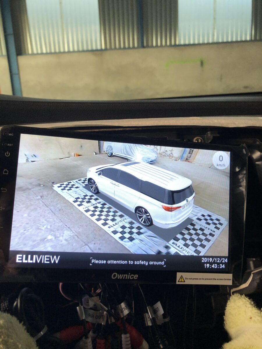 Camera 360 độ Elliview cho xe Honda Odyssey