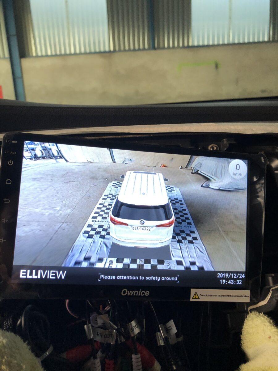 Cam 360 xe Honda Odyssey