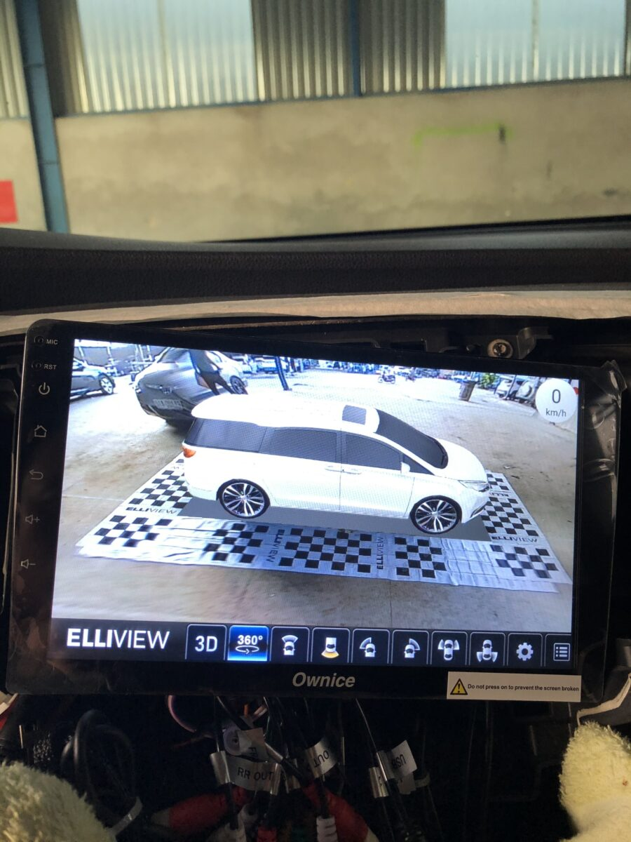 Camera 360 độ Elliview cho xe Honda Odyssey 2016