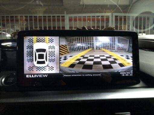Camera 360 AHD Elliview siêu nét cho xe Mazda 6