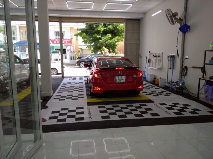 Camera hành trình 360 độ cho xe Honda Civic lắp tại Xế Pro (Bình Dương)