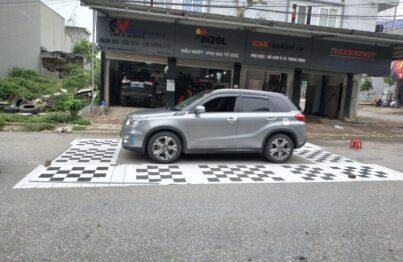 Camera hành trình 360 độ cho xe Vitara 2016 lắp tại Lốp Quang Vinh