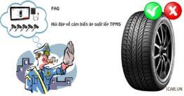 Hỏi đáp về cảm biến áp suất lốp