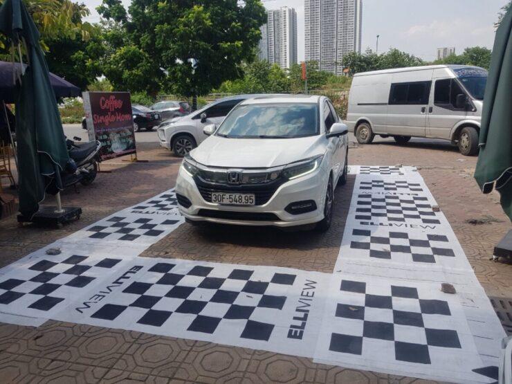 Camera 360 độ xe Honda HRV 2020 tại ICAR Hà Nội