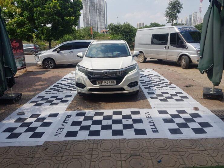 Lắp camera 360 độ xe Honda HRV 2020 tại ICAR Hà Nội