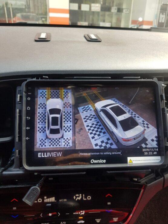 Camera 360 độ ELLIVIEW xe Honda HRV