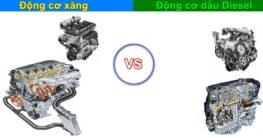 Nên mua và sử dụng xe ô tô động cơ máy xăng hay máy dầu Diesel?