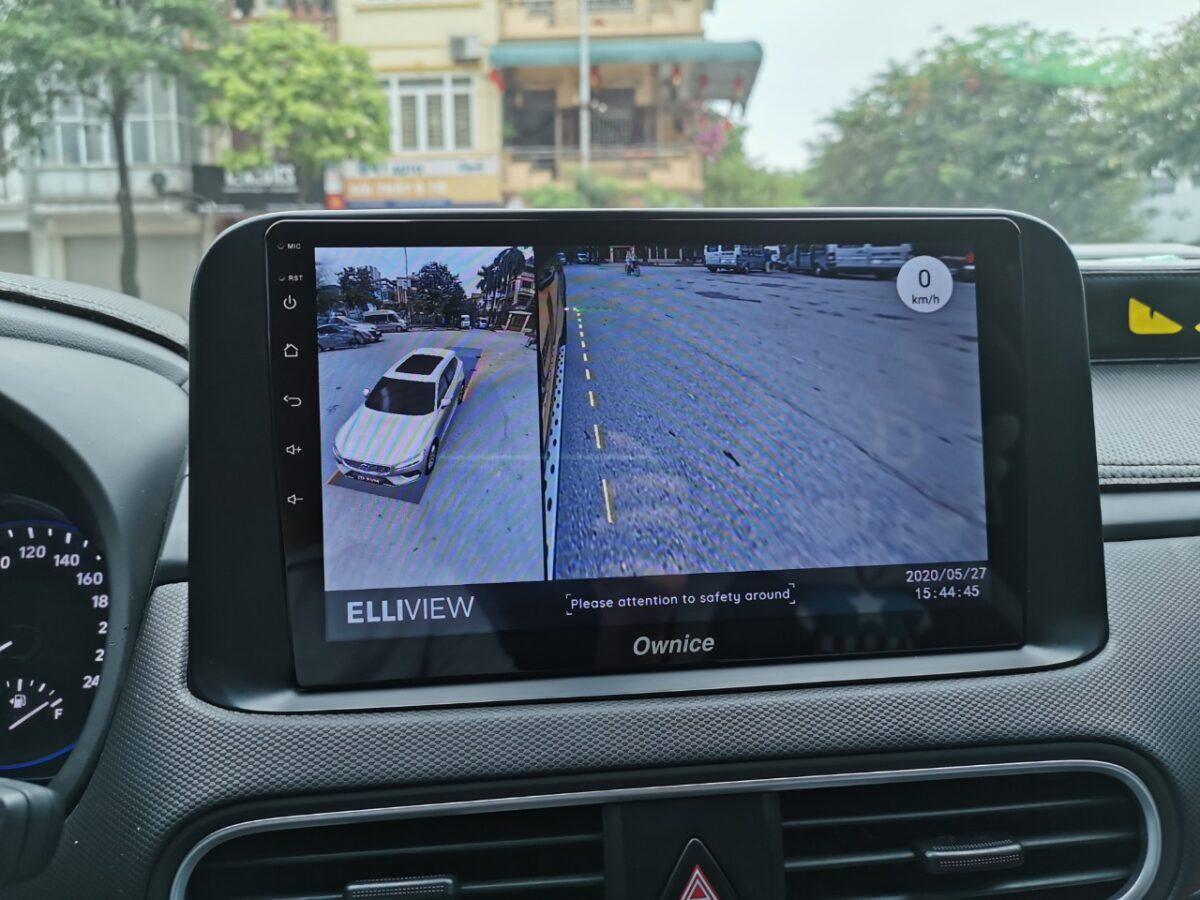 Camera 360 Elliview - Hệ thống quan sát toàn cảnh xe hơi
