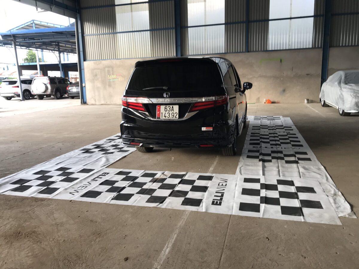 Xe Honda Odyssey 2016 lắp camera 360 độ tại Mạnh Dũng Auto (Mỹ Tho, Tiền Giang)