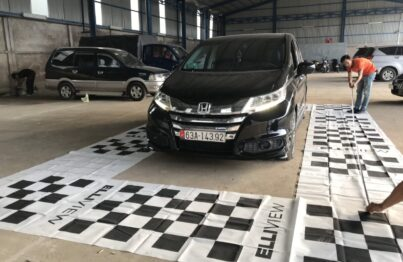 Xe Honda Odyssey lắp camera 360 độ tại Mạnh Đỗ Auto (Mỹ Tho, Tiền Giang)