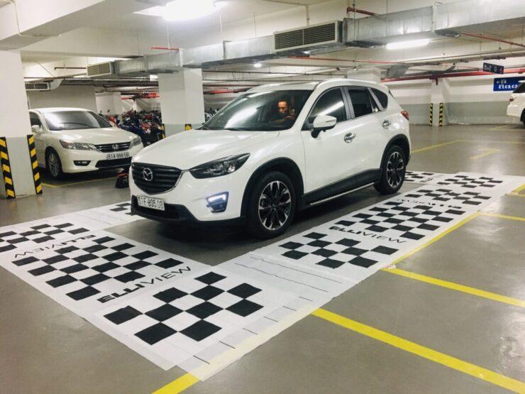 Xe Mazda CX5 lắp camera 360 nào hợp nhất?