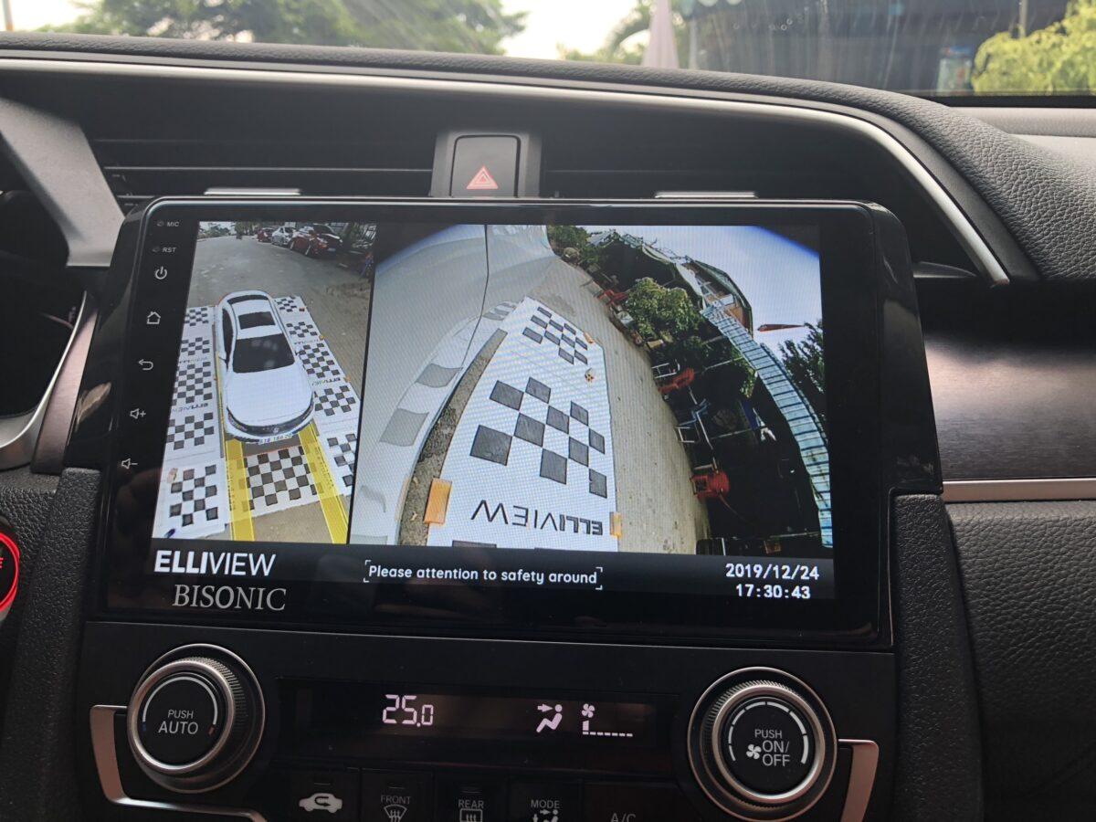 Nhi nhan phải Camera 360 Honda Civic