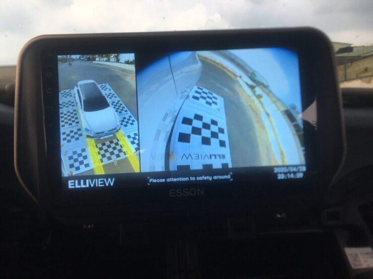 Xi nhan trái hiện Camera 360 xe Hyundai Tucson