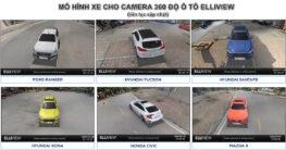 Mô hình xe trên camera 360 độ ô tô Elliview