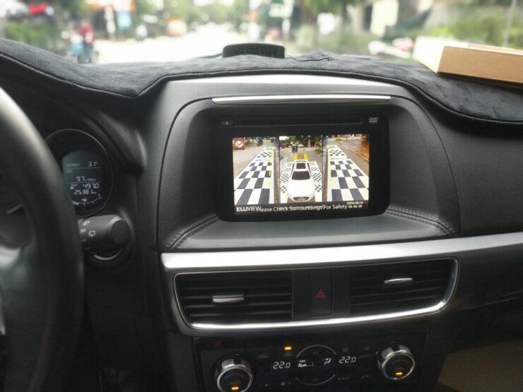 Camera 360 xe Mazda CX5 tại nội thất lốp ô tô Quang Vinh (Thái Nguyên)