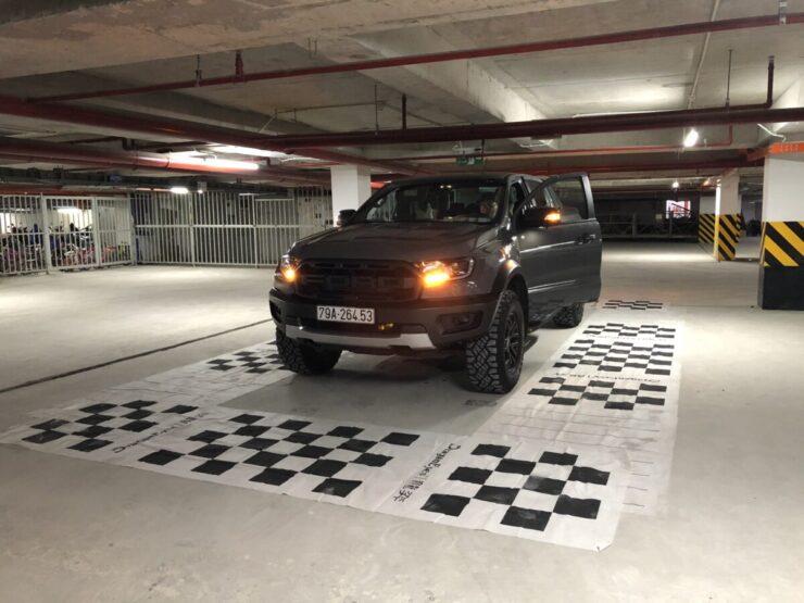 Xe Ford Ranger Raptor có lắp được camera 360 độ?