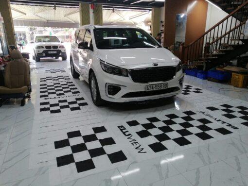 Lắp đặt camera 360 độ cho ô tô KIA Sedona