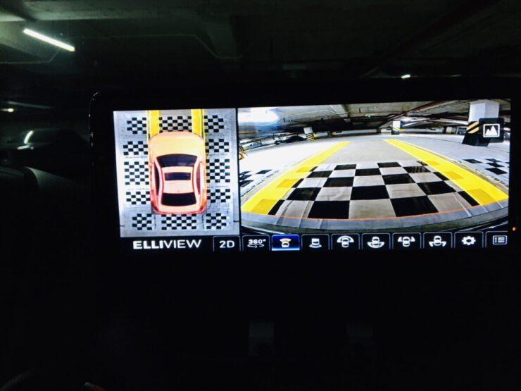 Lắp camera 360 độ oto cho xe Mazda 2 tại tp HCM