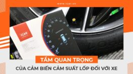 Tầm quan trọng của cảm biến cảm suất lốp đối với xe