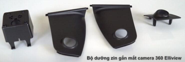 Bộ dưỡng zin gắn mắt camera 360 độ xe Ford