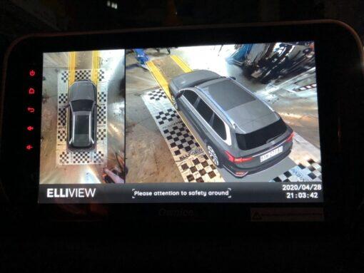 Độ Camera 360 xe tại Cường Nga Auto