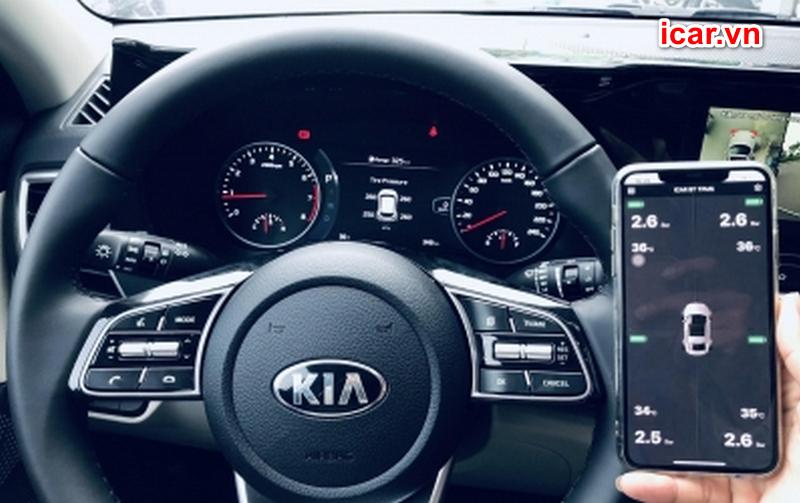 Thiết bị cảm biển áp suất lốp giúp bạn lái xe an toàn hơn