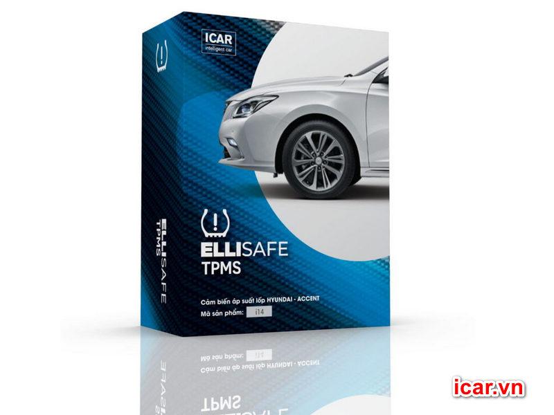 Cảm biến áp suất lốp icar theo xe Hyundai