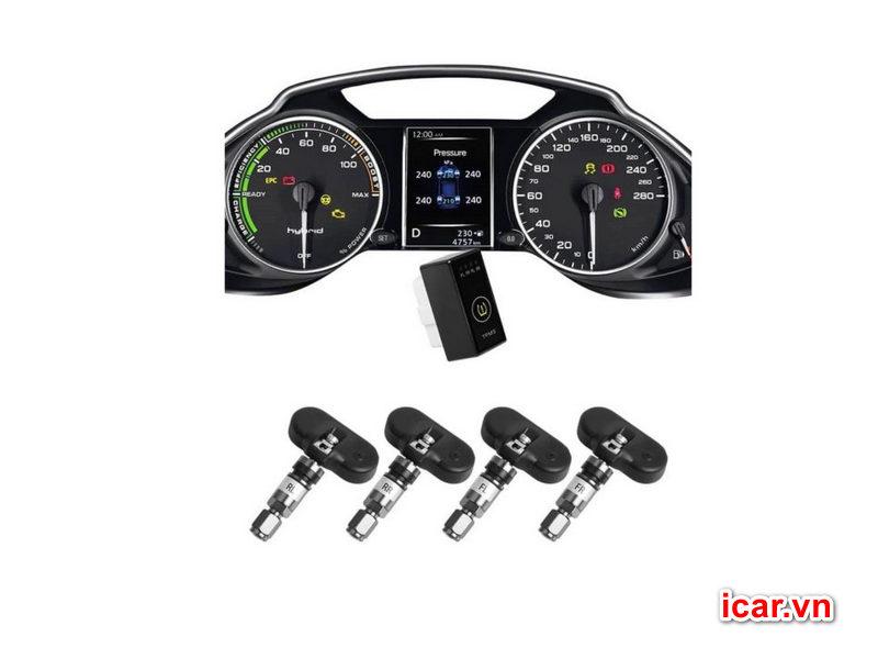 Cảm biến áp suất lốp theo xe Ellisafe-i-Serial-i1X