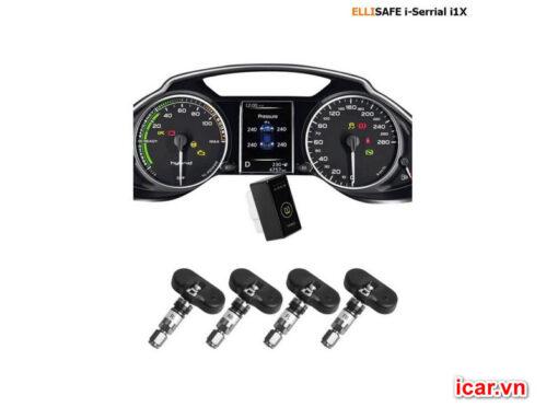 Thiết bị cảm biến áp suất lốp theo xe Ellisafe i1X