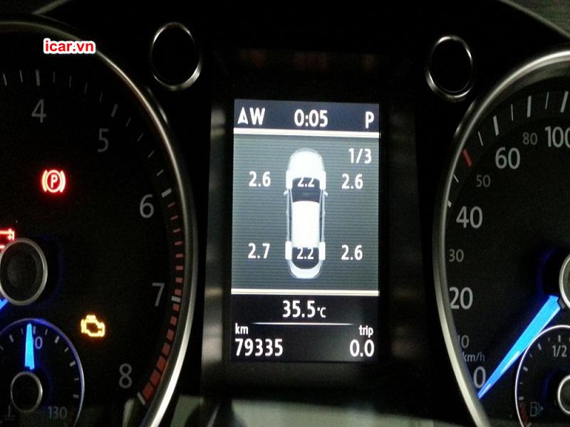 Hệ thống cảnh báo áp suất lốp TPMS sẽ giúp hạn chế rủi ro xảy ra tai nạn