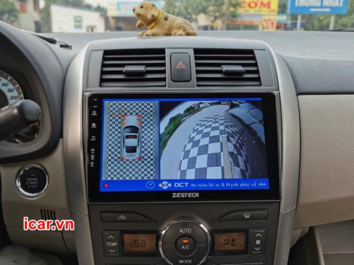 màn hình ô tô altis 2009