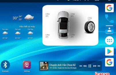 Thiết bị cảm biến áp suất lốp ô tô Ellisafe ADI5