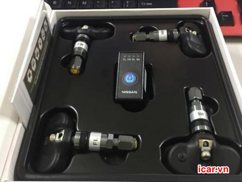 Thiết bị cảm biến áp suất lốp theo xe icar i11