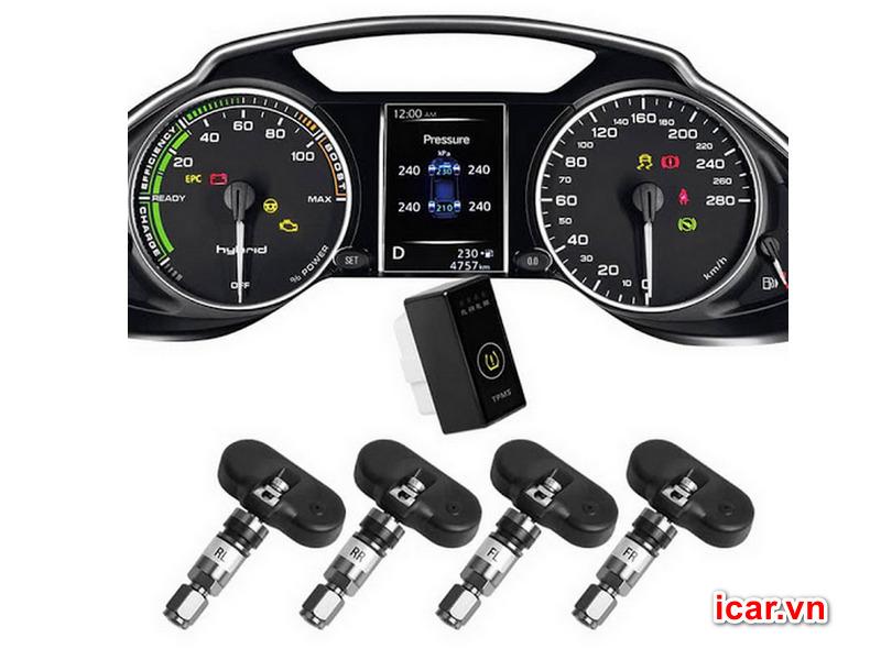 Bộ cảm biến áp suất lốp theo xe Icar i12