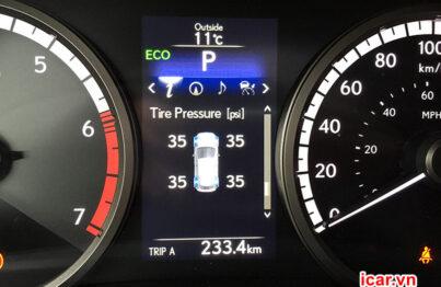 Cảnh báo áp suất lốp chênh lệch do lỗi thiết bị