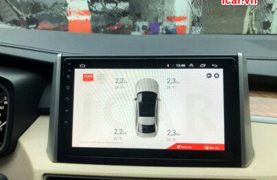 Màn hình hiển thị thiết bị cảm biến áp suất lốp Icar
