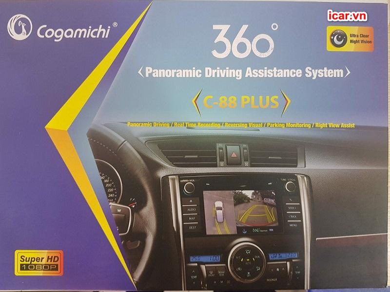 Camera 360 ô tô giá rẻ Cogamichi
