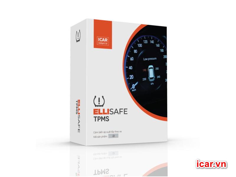 Thiết bị cảm biến áp suất lốp theo xe icar i12