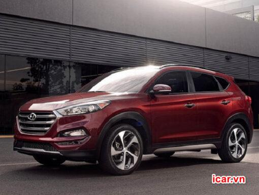 Xe Hyundai Tucson chưa được trang bị sãn cảm biến áp suất lốp