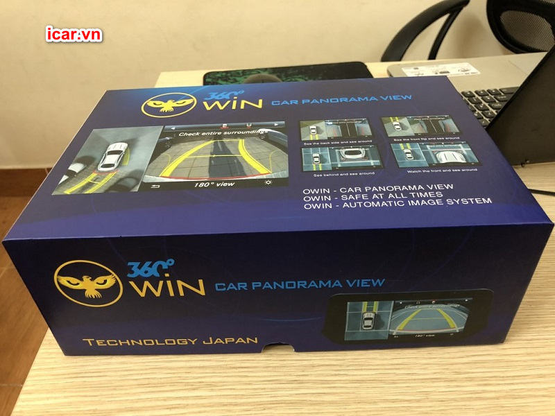 Hình ảnh sản phẩm camera 360 ô tô Owin