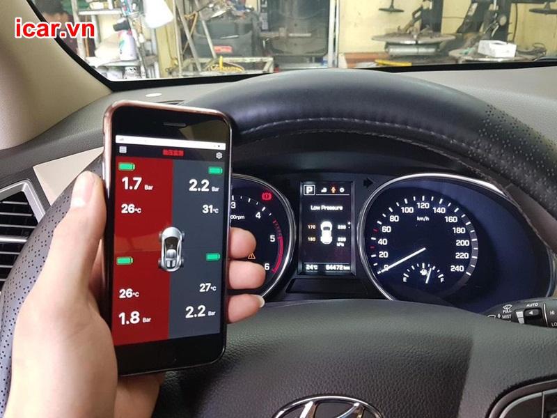 Cảm biến áp suất lốp ô tô gặp lỗi, cách khắc phục?