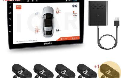 Trọn bộ cảm biến áp suất lốp Icar Ellisafe ADI5 2020