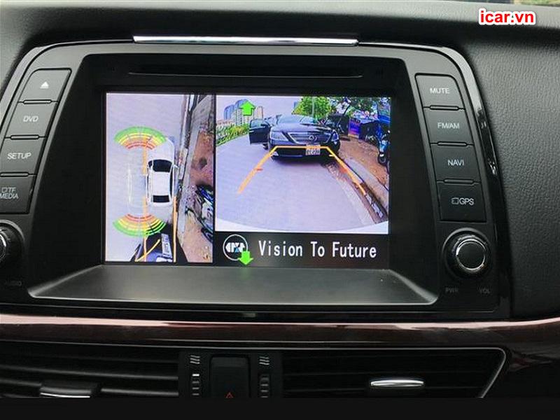 Camera 360 ô tô Oris trên xe Mazda 6
