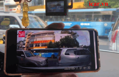 Camera hành trình xiaomi với hình ảnh sắc nét