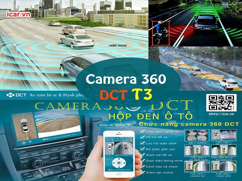 Các tính năng vượt trội của Camera 360 DCT