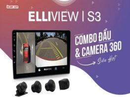 Camera 360 ô tô Elliview S3