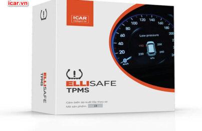 Hệ thống cảnh báo áp suất lốp theo xe Ellisafe i3
