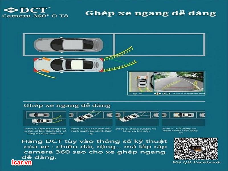 Tránh tình trạng va chạm mỗi lần lùi xe hay đỗ xe