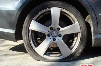 Cảm biến áp suất lốp giúp cảnh báo tình trạng lốp