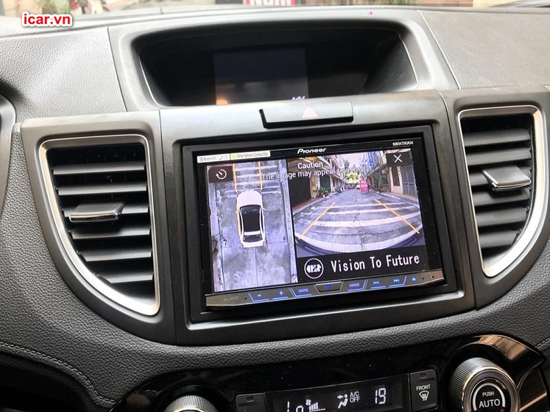 Camera 360 ô tô chính hãng Oris trên Honda CRV